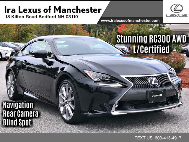 Pre-Owned 2016 Lexus RC 300 Premium w/Navigation