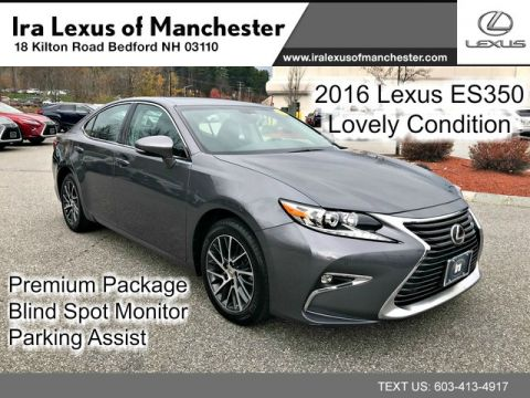 Pre-Owned 2016 Lexus ES 350 Premium Package W/ Heat and Vent Seats